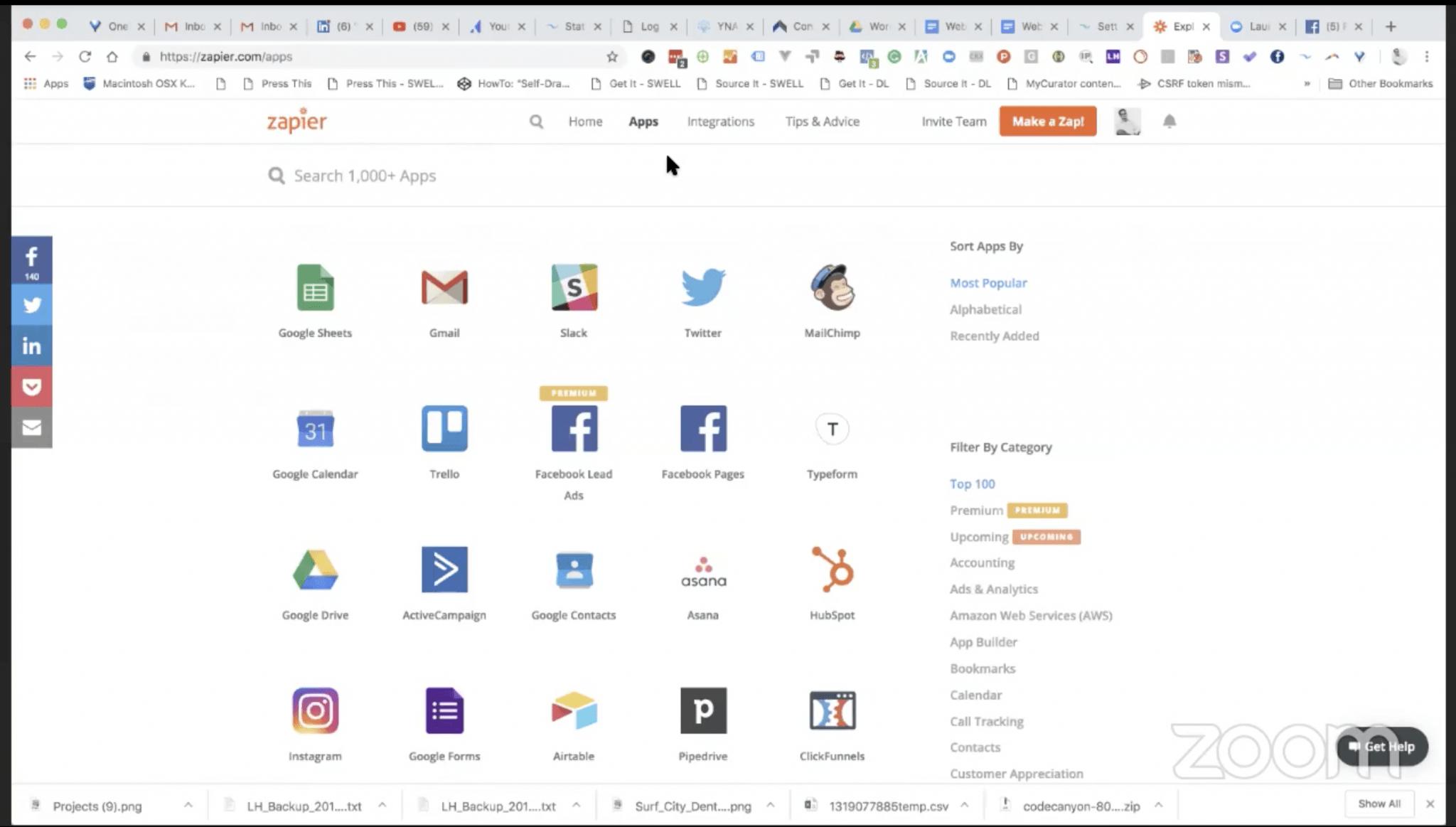 Zapier Webinar